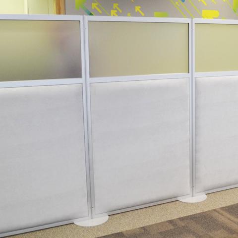 Ścianki w biurze | Omega ECO Line