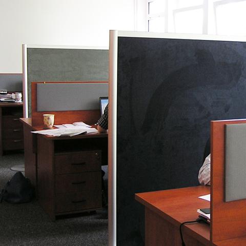 Ścianki w biurze | Omega ROUND Line