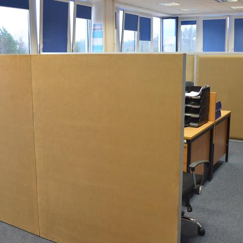 Ścianki w biurze | Omega QUBE Line